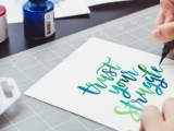 313S20 Watercolor Brush Lettering