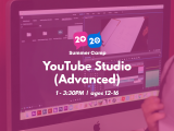 1:00PM | YouTube Studio (Advanced)