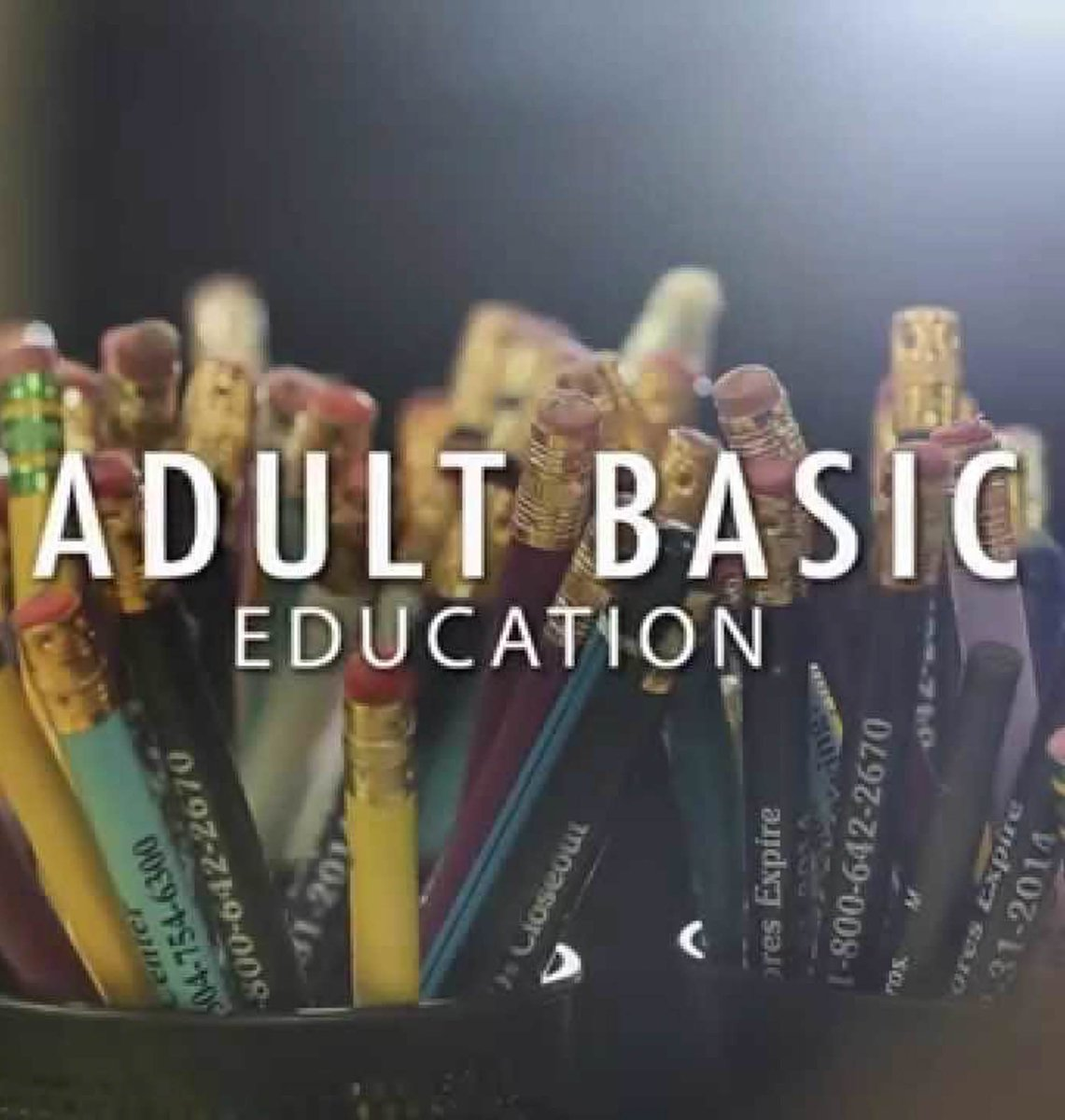 Adult Basic Education English (ABE) - Spring 2019