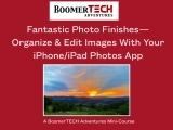 Fantastic Photo Finishes-Organize & Edit Images iPhone/iPad Photos App