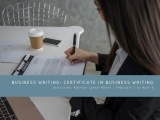 Business Writing: Part of the Certificate in Business Writing
