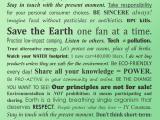 Sustainable Living: Open Forum
