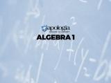 04. ALGEBRA I (Option 1)