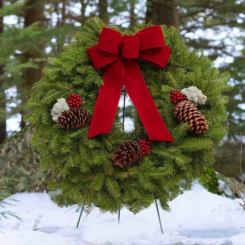 Original source: https://cdn11.bigcommerce.com/s-p4l00/images/stencil/1280x1280/products/148/650/fresh-christmas-wreath-harbor-farm-balsam-red-bow-snow-800x800__65115.1519324759.jpg?c=2&imbypass=on