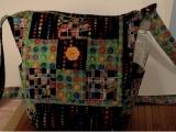 Nine Patch Cross-Body Bag