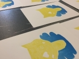 Multi-Color Screen Prints