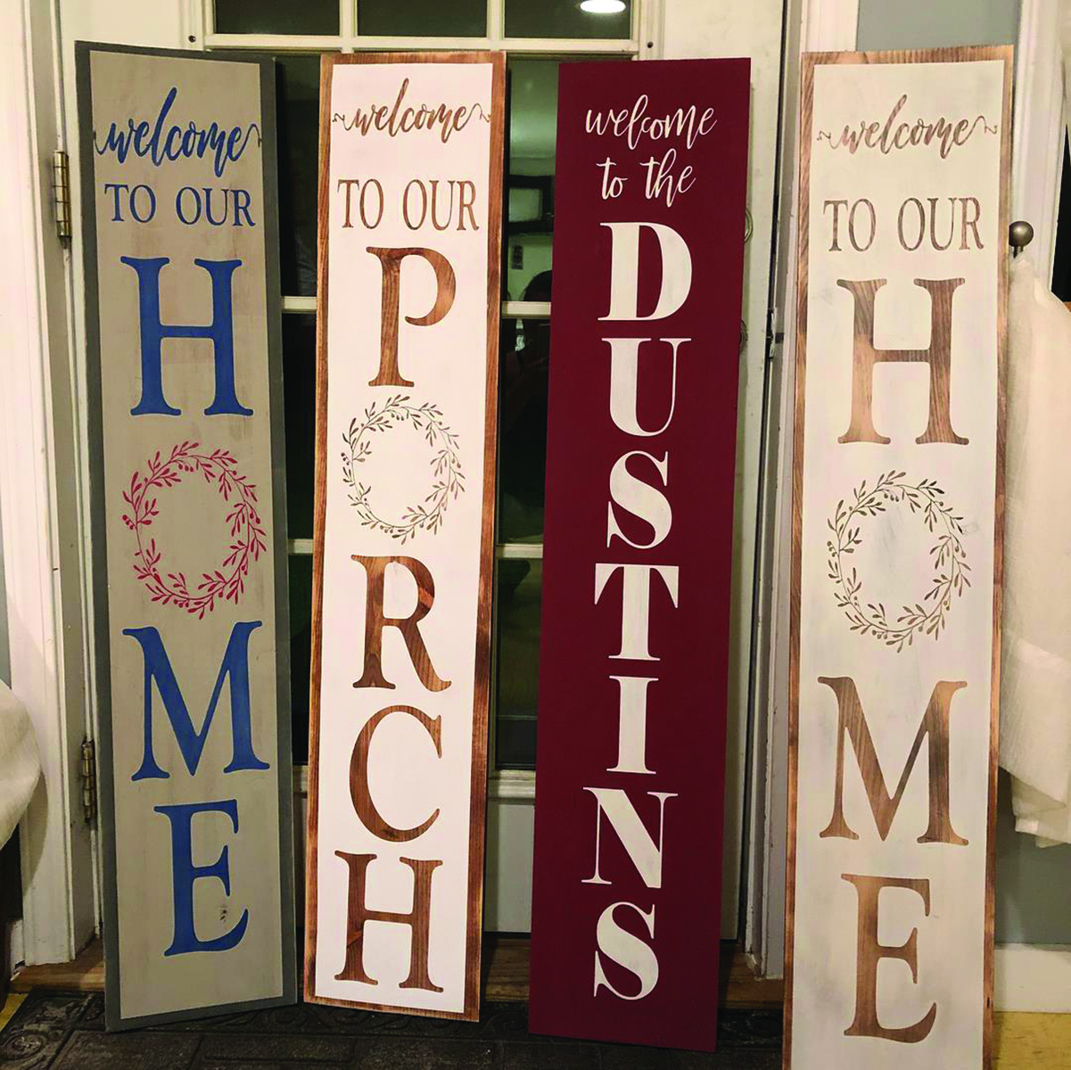 Create a Porch Sign
