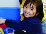 ELL Kids in the Art Studio; 1st child 9/19
