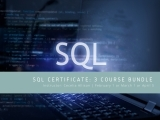 SQL Certificate: 3 Bundle Course Feb-April