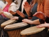 HealthRHYTHMS Drumming- Outdoors!
