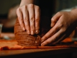 Creating Clay Art By Hand