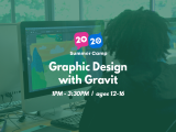 1:00PM | Graphic Design with Gravit