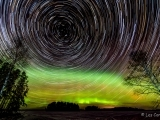 Night Sky Photography: The Aurora & Star Trails