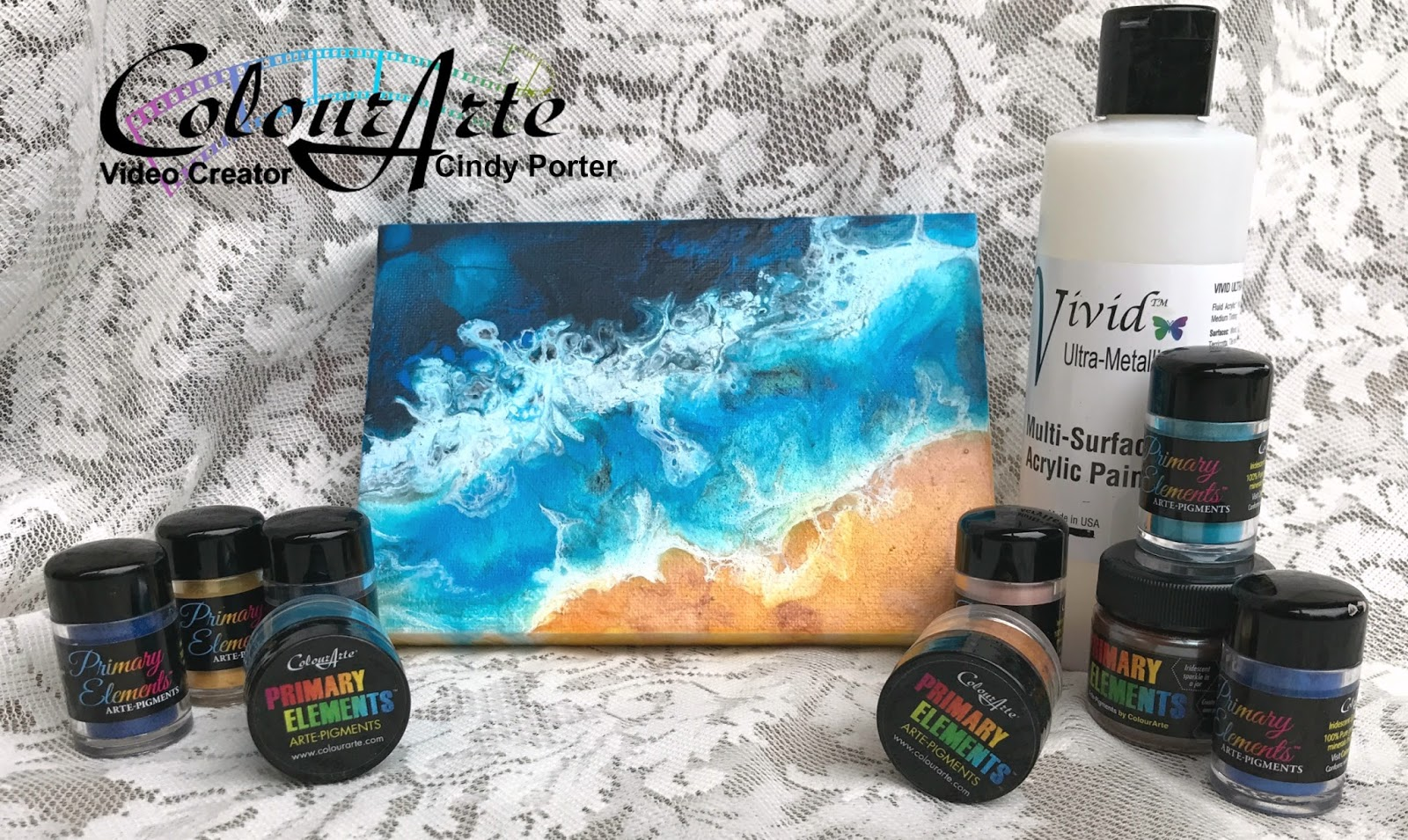 Acrylic Pouring-Beginners Art