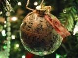 Upcycled Christmas Ornament Fall 2017