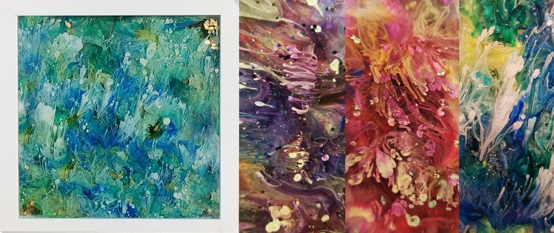 Resin Ink Frames - Spring 2019
