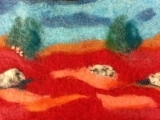 Wet Felting: Painting with Wool