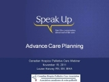 Advanced Care Planning For End of Life