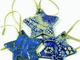 Clay Ornament Night