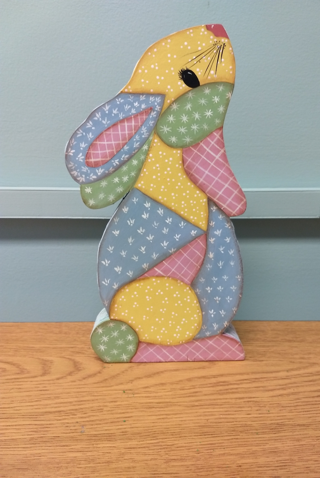 Calico Easter Bunny