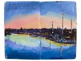 Travel Sketchbook: Documenting Travel Memories through Painting I