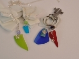 Drilled Sea Glass- Necklace & Keychain Session 1