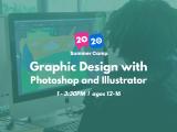 1:00PM | Graphic Design with Photoshop & Illustrator