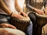 Family-Friendly Community Drum Circle
