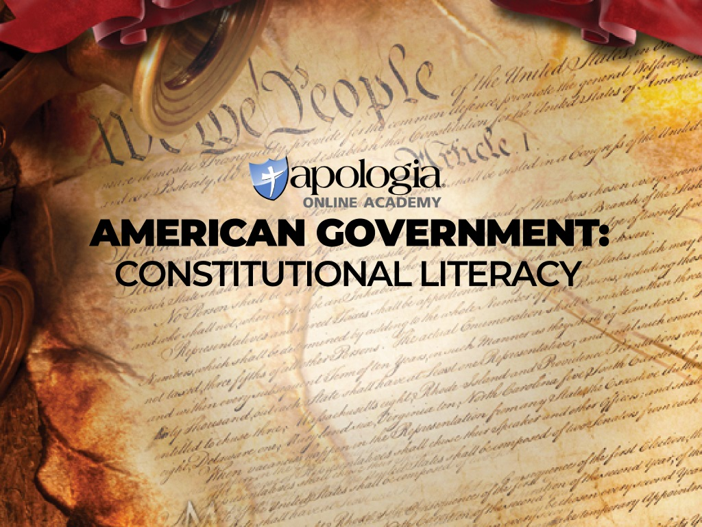 AMER GOVNT/CONSTITUTIONAL LITERACY/REC (Option 2) $638*
