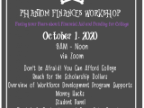 Phantom Finances Workshop