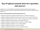 Become an Optical Assistant