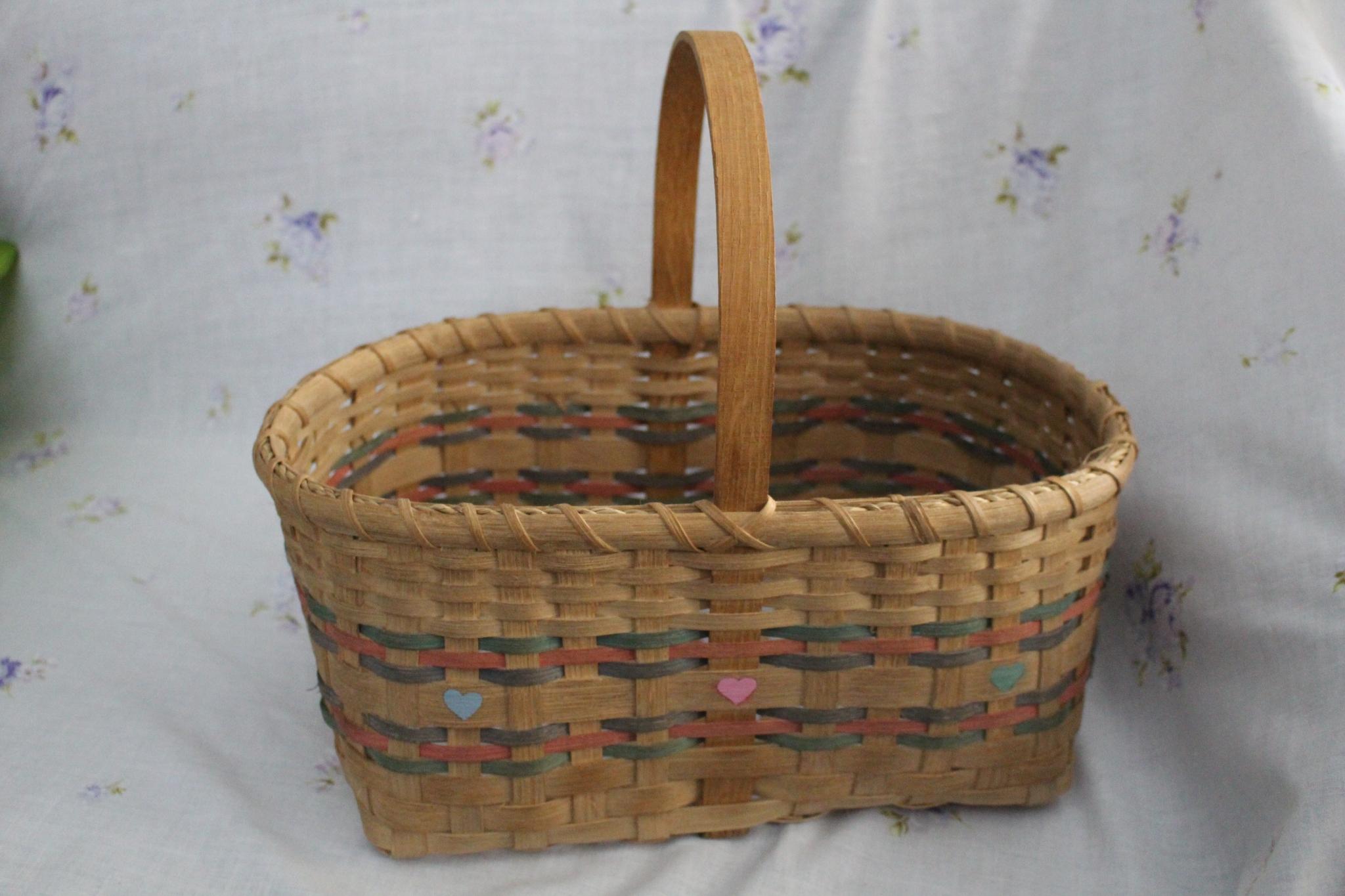 Basket Weaving: Market Basket