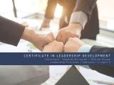 Leadership Principles: Part of the Certificate in Leadership Development