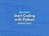[In Person] Start Coding with Python