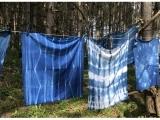 Shibori Dyeing with Indigo
