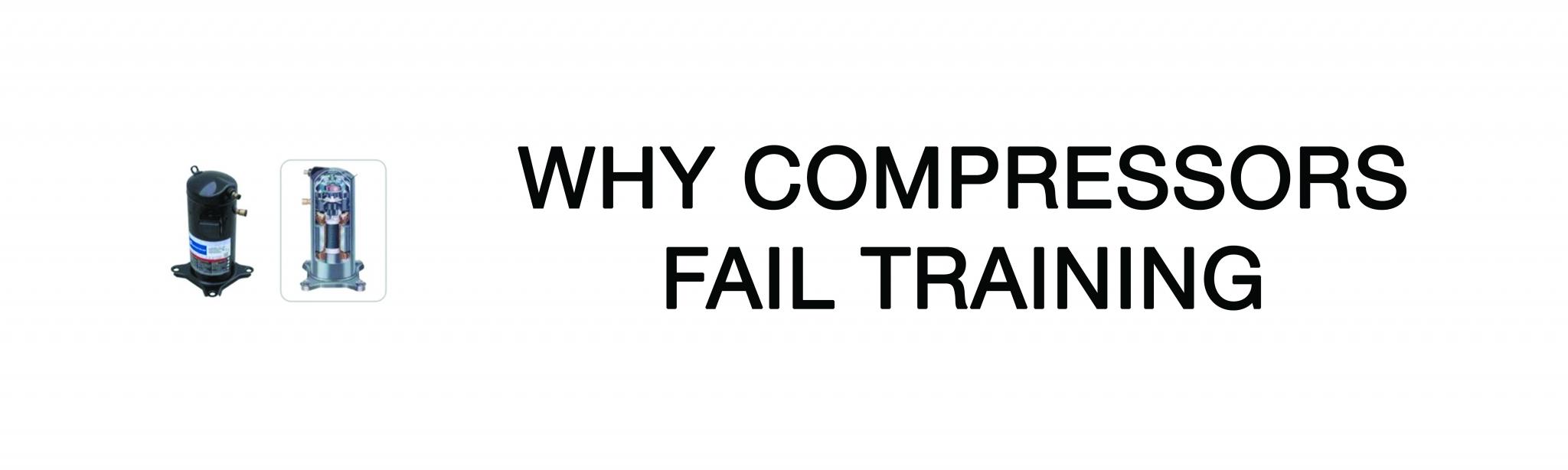 Why Compressors Fail Training - Kansas City