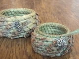 Pine Needle Basketry-Whole Needle
