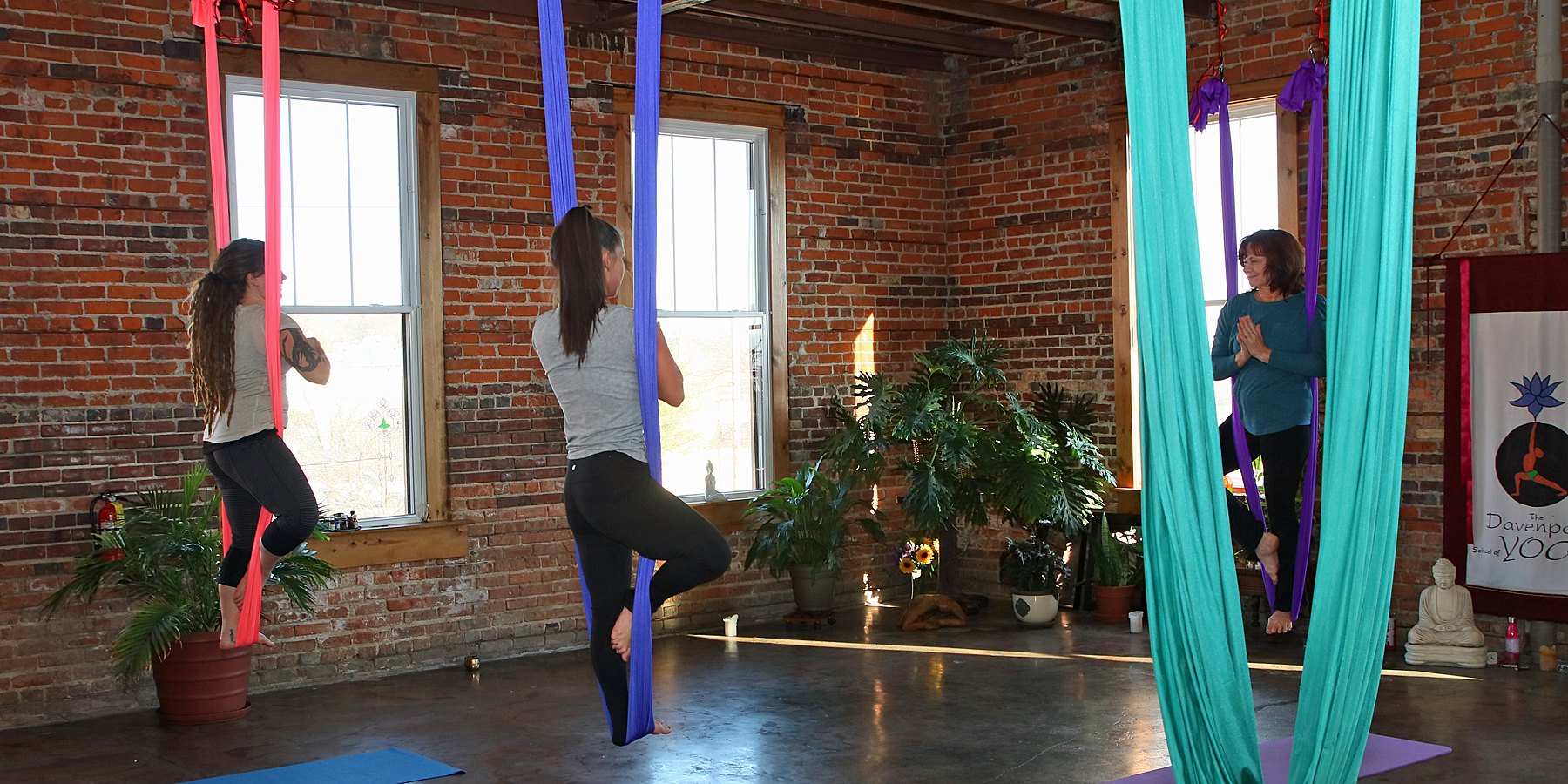 Tuesday Afternoon Aerial Yoga (DSY)