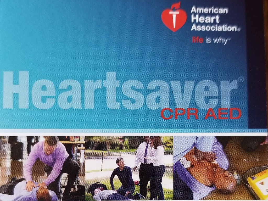 AHA Heartsaver CPR AED Online Classes