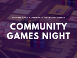 Community Games Night!