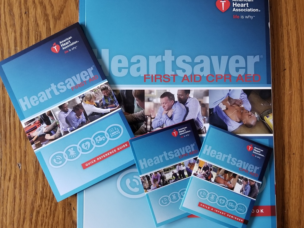 AHA Heartsaver First Aid CPR AED Classes