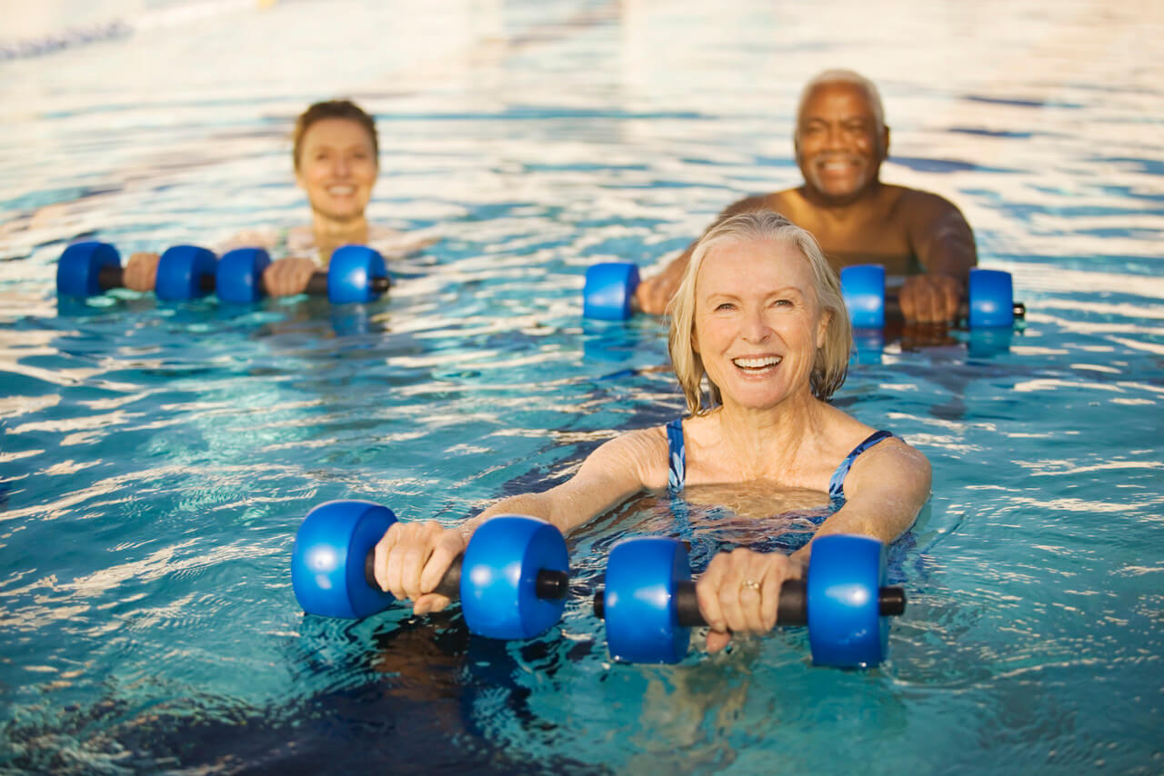 Making Waves Water Fitness - Session 1