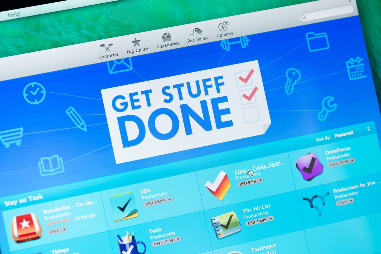 Productivity eTools: Be Organized & Get Stuff Done 5/6
