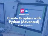 1:00PM   Create Graphics with Python (Advanced)