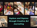 Creative Art Journaling -Monday