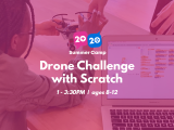 1:00PM | Drone Challenge with Scratch