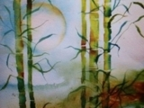 314S18 Splash Watercolors With Suzi: Bamboo Moon