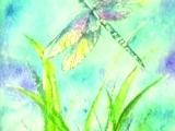 Watercolor Batik on Rice Paper