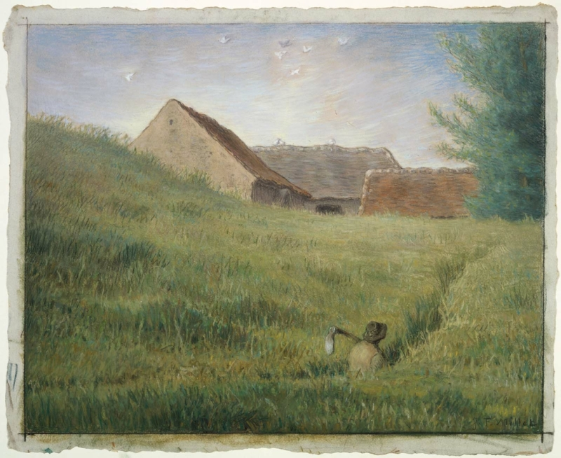 Original source: https://upload.wikimedia.org/wikipedia/commons/3/3e/Path_through_the_Wheat_by_Jean-Fran%C3%A7ois_Millet%2C_pastel_and_cont%C3%A9_crayon.jpg