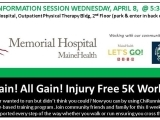 ChiRunning/Walking FREE INFO SESSION No Pain? All Gain! Injury Free 5K Program